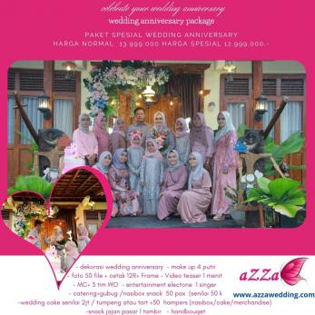 wedding anniversary paket